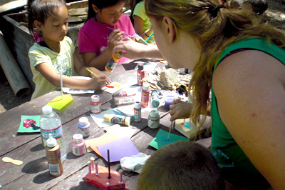 Arts & Crafts at The Pines Campground